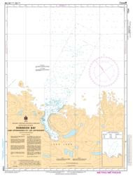 ROBINSON BAY AND APPROACHES/ET LES APPROCHES (7134) by Canadian Hydrographic Service