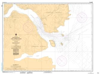 EXETER BAY AND APPROACHES/ET LES APPROCHES (7170) by Canadian Hydrographic Service