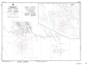 REPULSE BAY HARBOURS ISLANDS TO/A TALUN BAY (7430) by Canadian Hydrographic Service