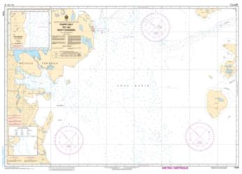 PARRY BAY TO/AU NAVY CHANNEL (7485) by Canadian Hydrographic Service