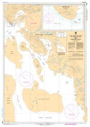AIR FORCE ISLAND TO/AU LONGSTAFF BLUFF (7488) by Canadian Hydrographic Service