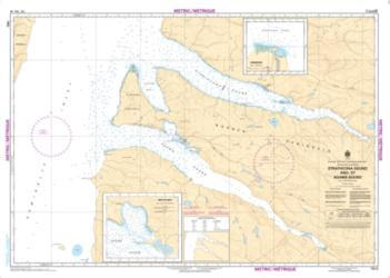STRATHCONA SOUND AND/ET ADAMS SOUND (7512) by Canadian Hydrographic Service