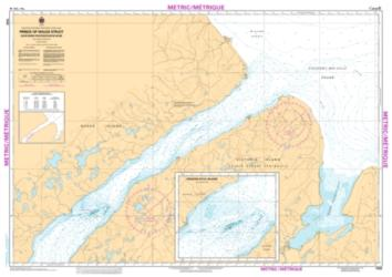 PRINCE OF WALES STRAIT, NORTHERN PORTION/PARTIE NORD (7520) by Canadian Hydrographic Service