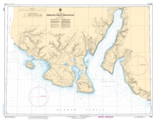 EREBUS BAY AND/ET RADSTOCK BAY (7527) by Canadian Hydrographic Service