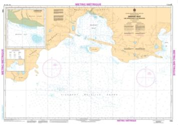 BRIDPORT INLET AND APPROACHES/ET LES APPROCHES (7540) by Canadian Hydrographic Service