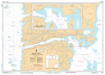 BELLOT STRAIT AND APPROACHES/ET LES APPROCHES (7552) by Canadian Hydrographic Service