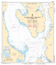M'CLINTOCK CHANNEL, LARSEN SOUND AND/ET FRANKLIN STRAIT (7573) by Canadian Hydrographic Service