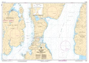 PEEL SOUND AND/ET PRINCE REGENT INLET (7575) by Canadian Hydrographic Service
