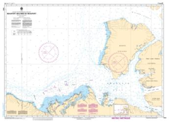 BEAUFORT SEA/ MER DE BEAUFORT (7600) by Canadian Hydrographic Service