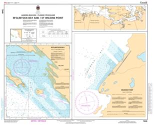 PUTULIK (HAT ISLAND) AND WILKINS POINT (7646) by Canadian Hydrographic Service