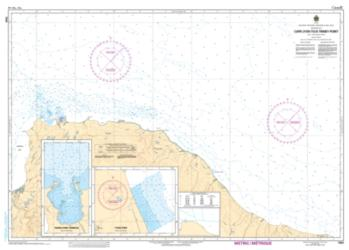 CAPE LYON TO/A TINNEY POINT (7666) by Canadian Hydrographic Service