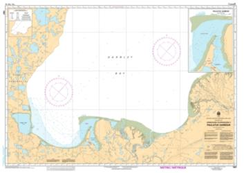 APPROACHES TO/APPROCHES A PAULATUK HARBOUR (7687) by Canadian Hydrographic Service