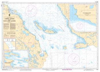 LAMBERT CHANNEL AND/ET CACHE POINT CHANNEL (7710) by Canadian Hydrographic Service