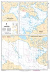 APPROACHES TO/APPROCHES A CAMBRIDGE BAY (7750) by Canadian Hydrographic Service