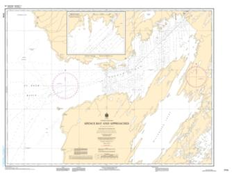 SPENCE BAY AND APPROACHES (7770) by Canadian Hydrographic Service