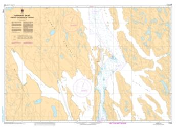 BATHURST INLET - CENTRAL PORTION (7792) by Canadian Hydrographic Service