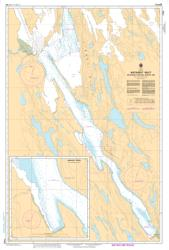 BATHURST INLET - SOUTHERN PORTION/PARTIE SUD (7793) by Canadian Hydrographic Service