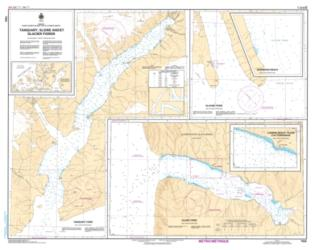 TANQUARY, SLIDRE AND GLACIER FIORDS (7920) by Canadian Hydrographic Service
