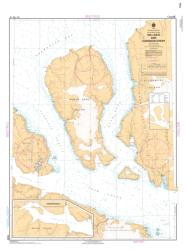 HELL GATE AND CARDIGAN STRAIT (7930) by Canadian Hydrographic Service