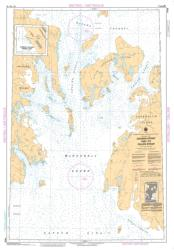 CROZIER STRAIT AND/ET PULLEN STRAIT (7935) by Canadian Hydrographic Service