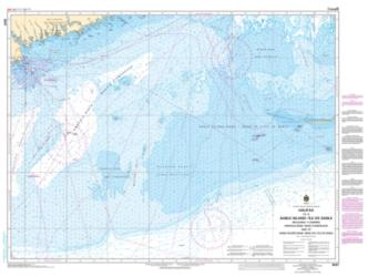 HALIFAX TO/A SABLE ISLAND/ILE DE SABLE, INCLUDING/Y COMPRIS EMERALD BANK/BANC D'EMERAUDE AND/ET SABLE ISLAND BANK/BANC DE L'ILE DE SABLE (8007) by Canadian Hydrographic Service