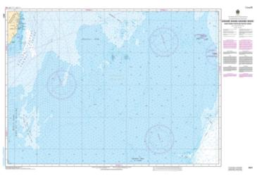 GRAND BANK, NORTHERN PORTION / GRAND BANC, PARTIE NORD (8011) by Canadian Hydrographic Service