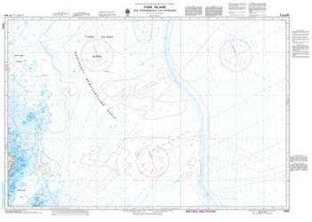 FUNK ISLAND AND APPROACHES/ET LES APPROCHES (8015) by Canadian Hydrographic Service