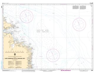 CAPE HARRISON TO/A ST. MICHAEL BAY (8048) by Canadian Hydrographic Service