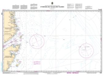 ST. MICHAEL BAY TO/AUX GRAY ISLANDS (8049) by Canadian Hydrographic Service