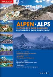 Alps, Provence, French Riviera, Northern Italy, Atlas Travelmag (Ger/Eng) by Kunth Verlag