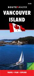 Vancouver Island, British Columbia, Laminated/Quick Fold by Route Master