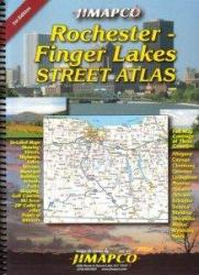 Rochester and Finger Lanes, New York, Road Atlas by Jimapco