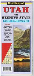 Road Map of Utah by North Star Mapping