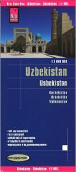 Uzbekistan country maps by Reise Know-How Verlag