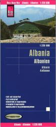 Albania road map by Reise Know-How Verlag