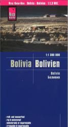 Bolivia road map by Reise Know-How Verlag