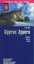 Cyprus road map by Reise Know-How Verlag