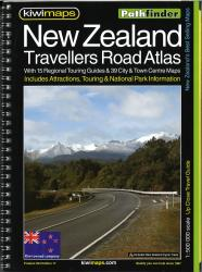 New Zealand, Travellers Road Atlas by Kiwi Maps