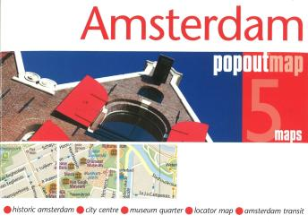 Amsterdam, Netherlands PopOut 5 Maps by PopOut Products