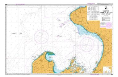 WESTERN APPROACHES TO COOK STRAIT (48) by Land Information New Zealand (LINZ)