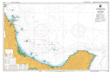 CUVIER ISLAND TO EAST CAPE (54) by Land Information New Zealand (LINZ)
