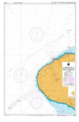 APPROACHES TO PORT TARANAKI (443) by Land Information New Zealand (LINZ)
