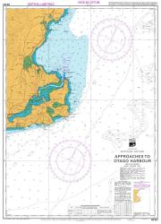 APPROACHES TO OTAGO HARBOUR (661) by Land Information New Zealand (LINZ)