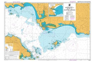 APPROACHES TO BLUFF AND RIVERTON/APARIMA (681) by Land Information New Zealand (LINZ)