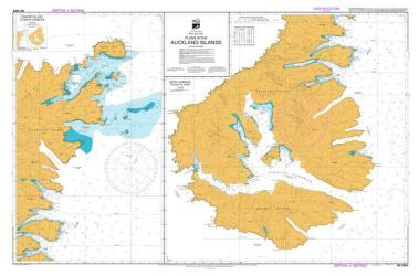PLANS IN THE AUCKLAND ISLANDS: SMITH HARBOUR TO SOUTH CAPE & ENDERBY ISLAND TO SMITH HARBOUR (2862) by Land Information New Zealand (LINZ)