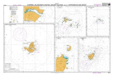 CAMPBELL ISLAND/MOTU IHUPUKU, BOUNTY ISLANDS AND THE ANTIPODES ISLAND GROUP / ANCHORAGE BAY  (3111) by Land Information New Zealand (LINZ)