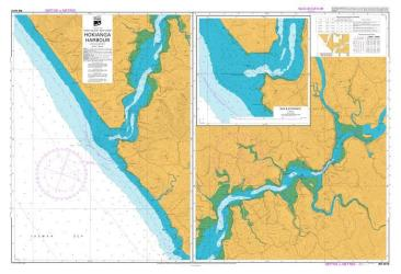 HOKIANGA HARBOUR (4212) by Land Information New Zealand (LINZ)