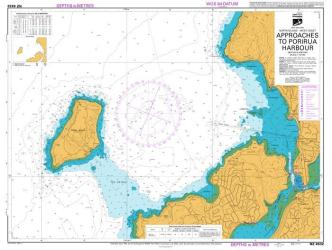 APPROACHES TO PORIRUA HARBOUR (4632) by Land Information New Zealand (LINZ)