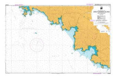 GREAT BARRIER ISLAND (SOUTHERN PART) (5224) by Land Information New Zealand (LINZ)