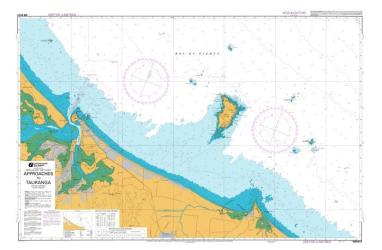 APPROACHES TO TAURANGA (5413) by Land Information New Zealand (LINZ)